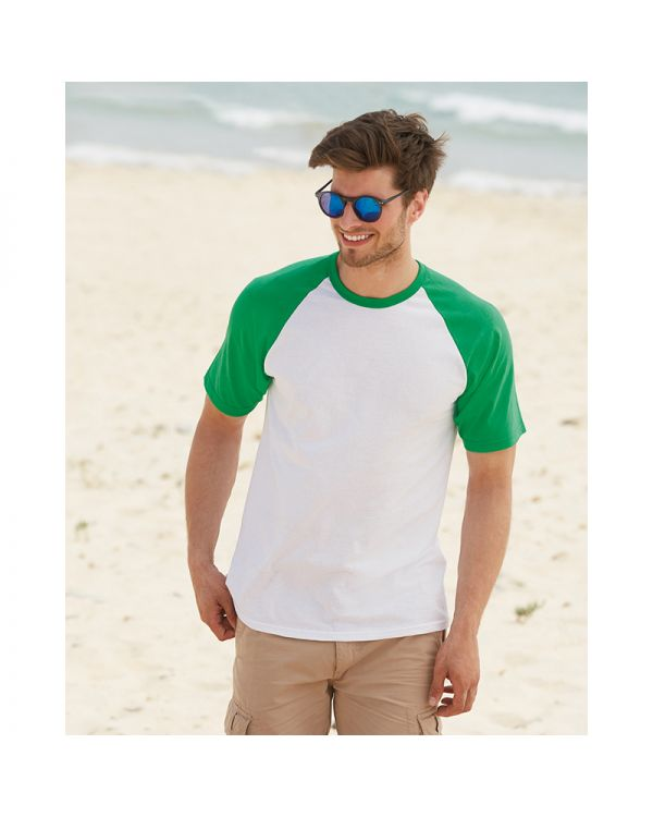 Mens Short Sleeve Baseball T Shirt