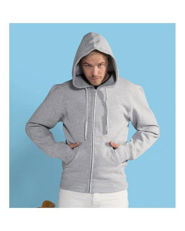 Mens Full Zip Urban Hoodie