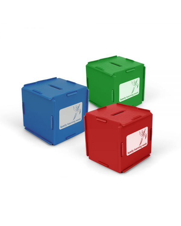 Green & Good Money Box Cube - Recycled
