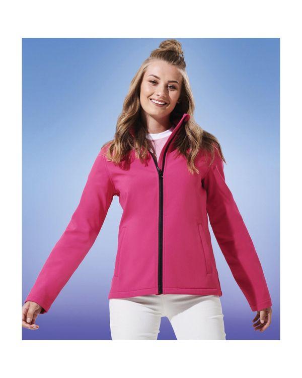 Womens Ablaze Softshell Jacket