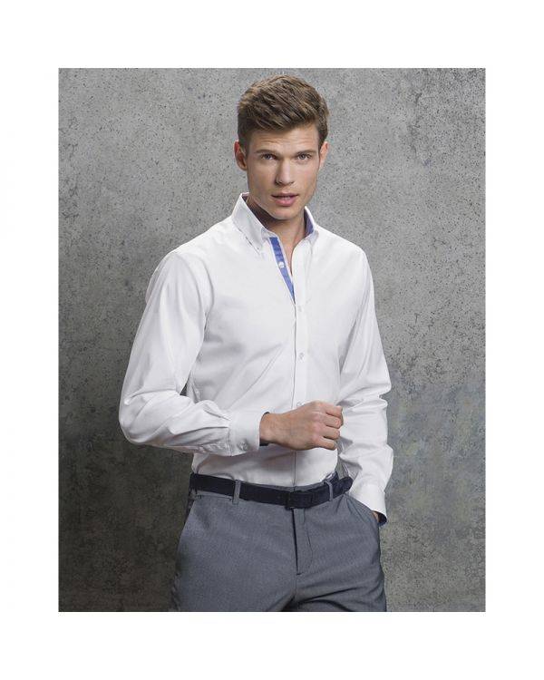 Mens Contrast Oxford Shirt