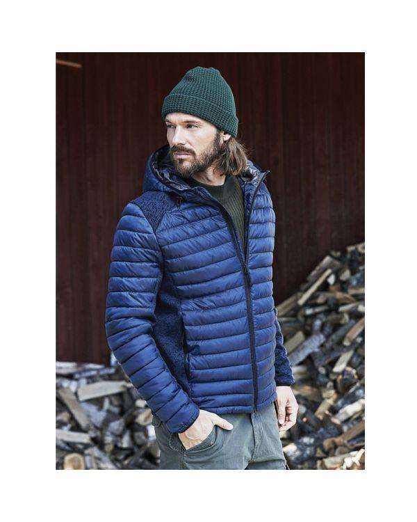Mens Hooded Outdoor Jacket
