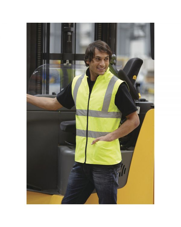 Hi-Vis Fleece Vest