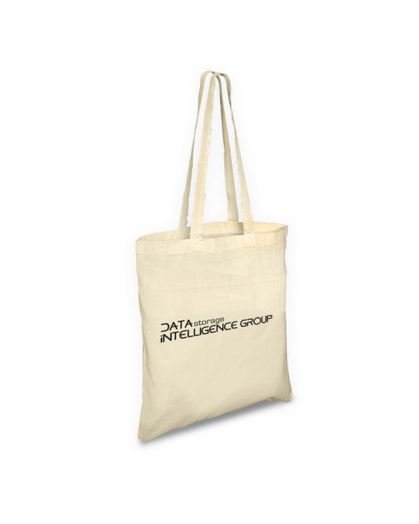 Green & Good Portobello Bag Long Handles - 4oz Cotton