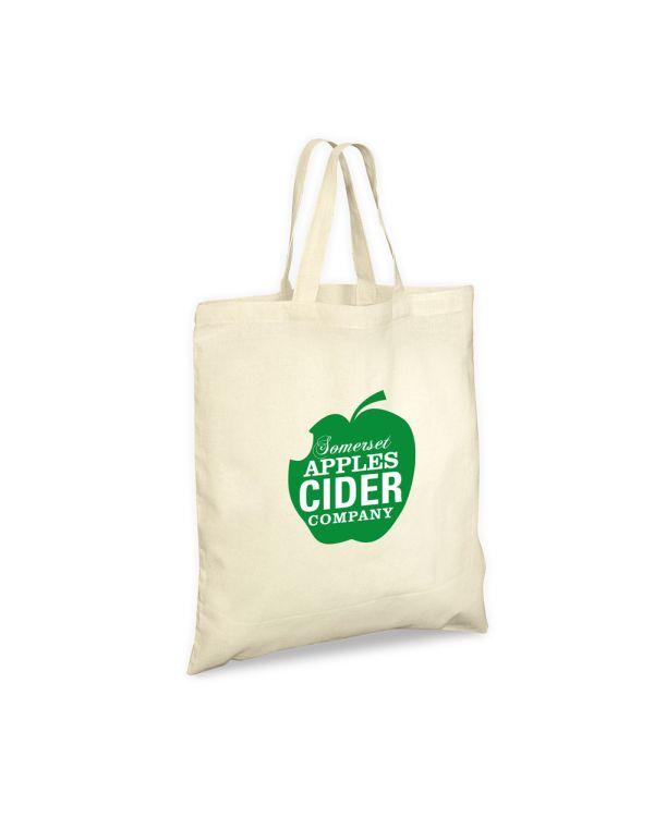 Green & Good Portobello Organic Bag Short Handles - Cotton 4oz