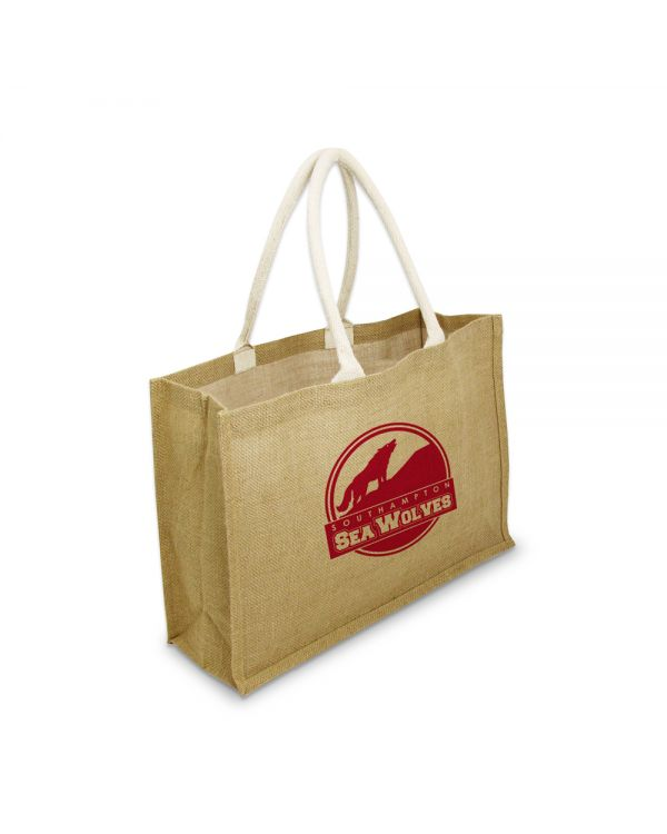 Green & Good York Large Bag - Jute