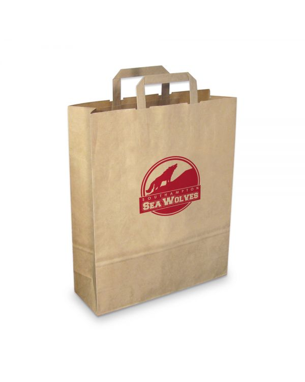 Green & Good Paper Carrier Bag Large - Recycled Paper