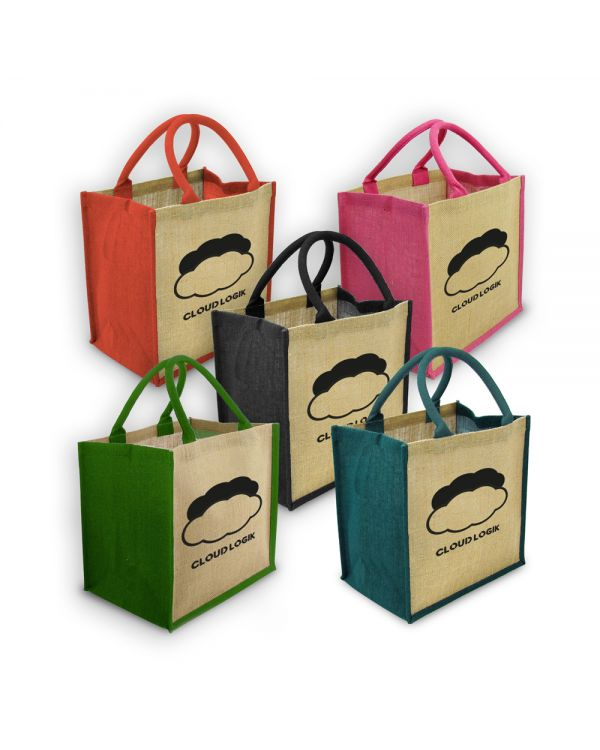 Green & Good Coloured Brighton Bag - Jute