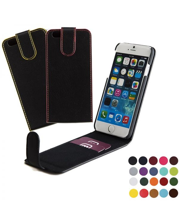 Phone Flip Wallet With Magnetic Strap In Belluno