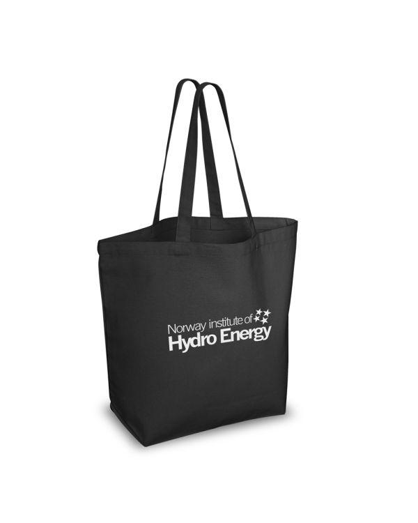 Green & Good BLACK Bayswater Shopper - Cotton Canvas 10oz