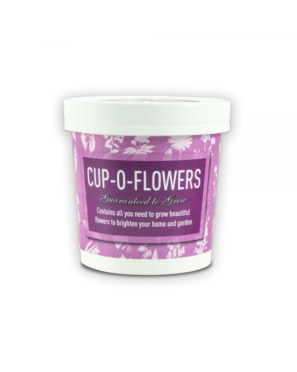 Green & Good Cup-o-Flowers
