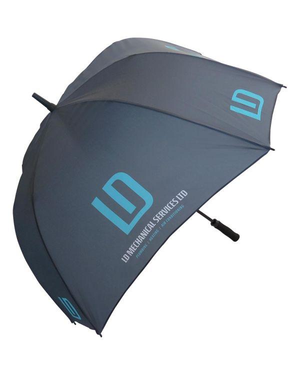 Fibrestorm Auto Square Umbrella