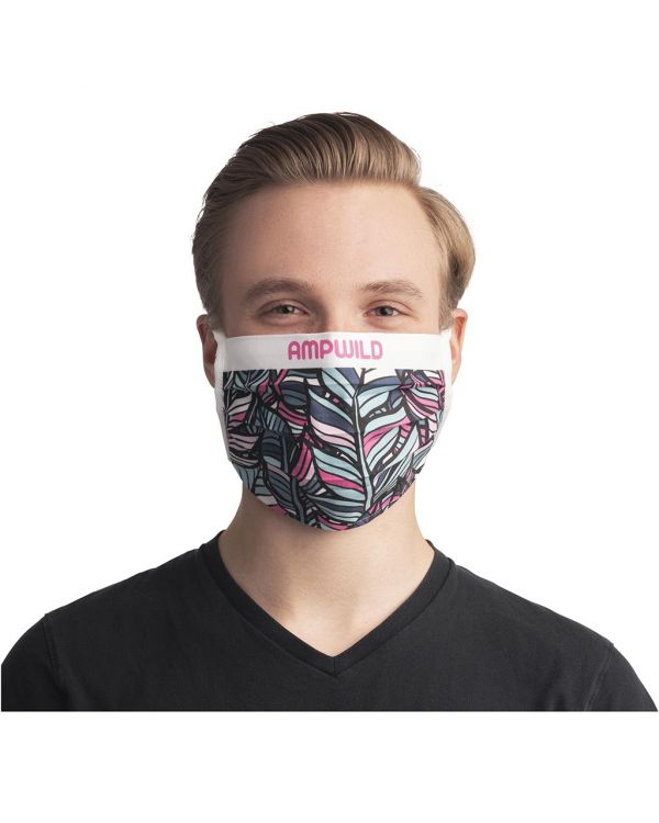 Sublimation Reuseable Mask With Cords