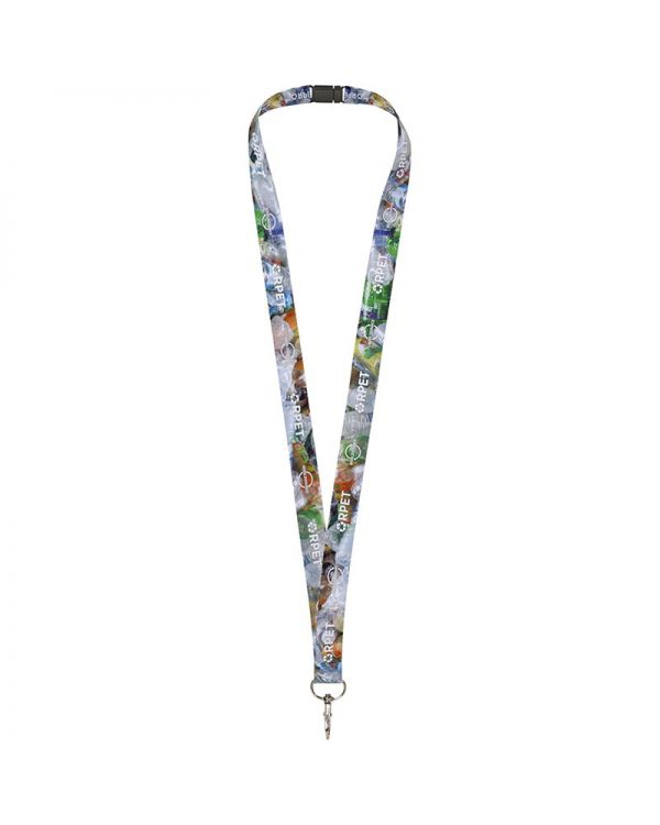 Addie Recycled PET Lanyard - Double Side Sublimation