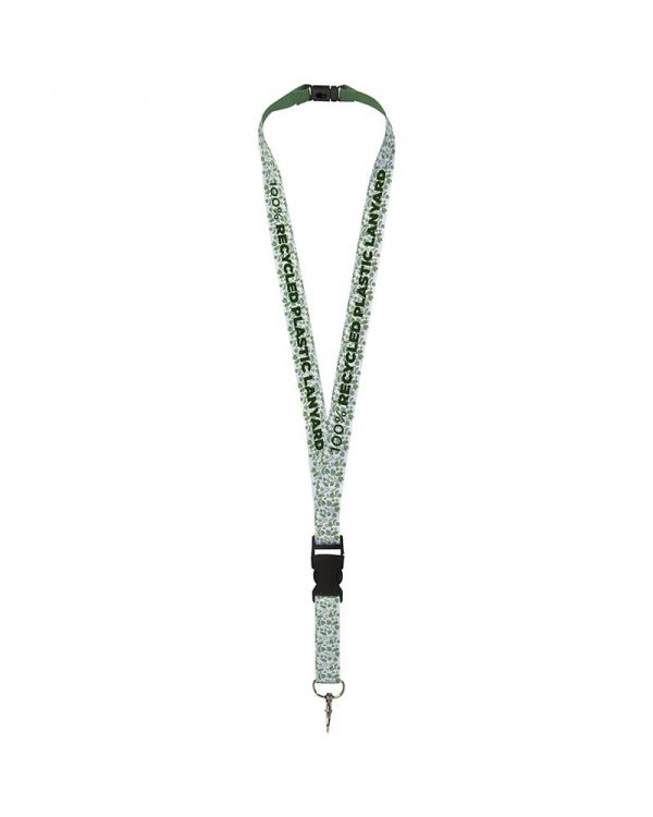 Balta Recycled PET Lanyard With Safety Buckle