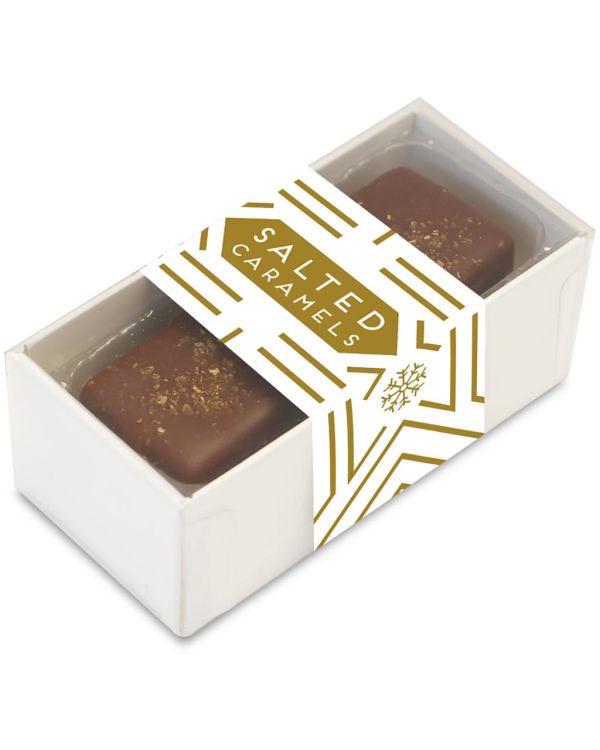 2 Choc Box - Dark Chocolate Salted Caramels