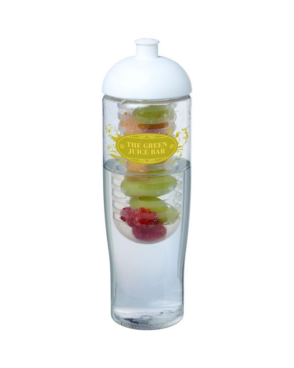 H2O Tempo 700 ml Dome Lid Sport Bottle & Infuser