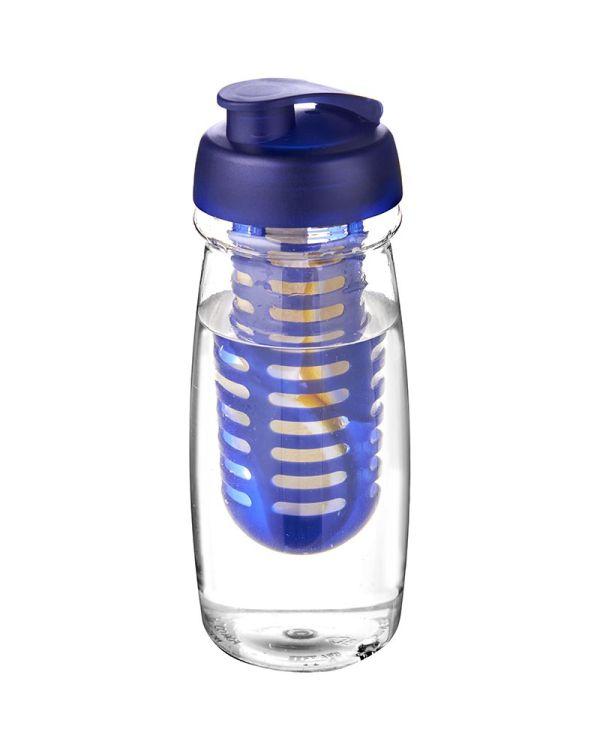 H2O Pulse 600 ml Flip Lid Sport Bottle & Infuser