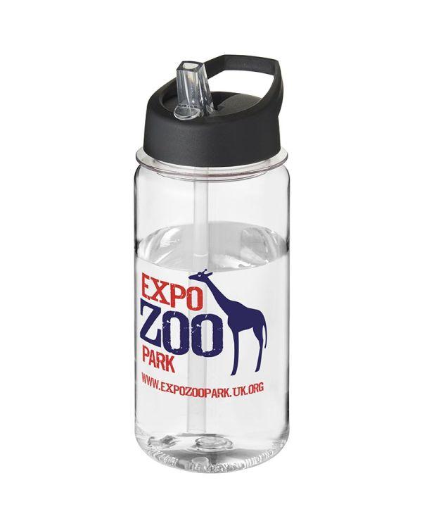 H2O Octave Tritan 600 ml Spout Lid Sport Bottle