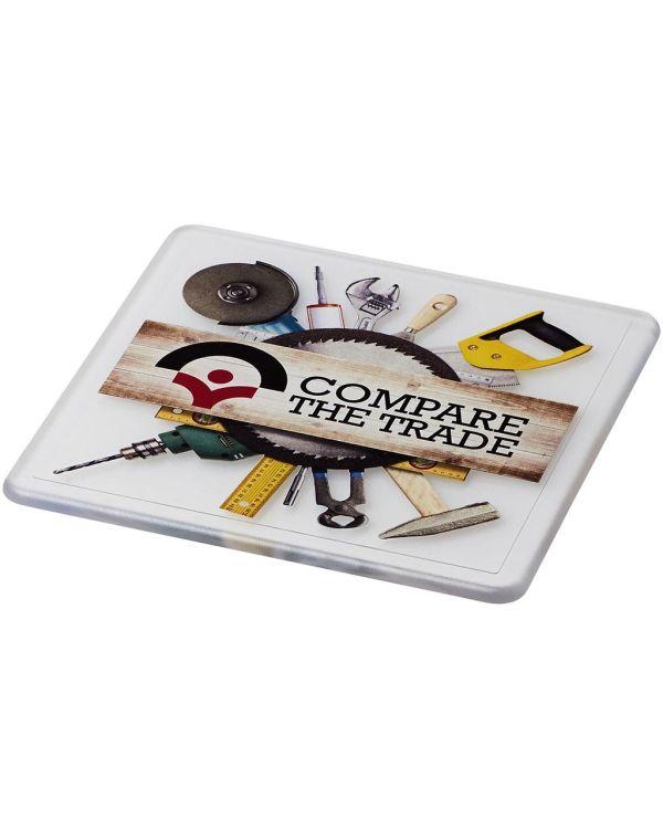 Renzo Square Plastic Coaster