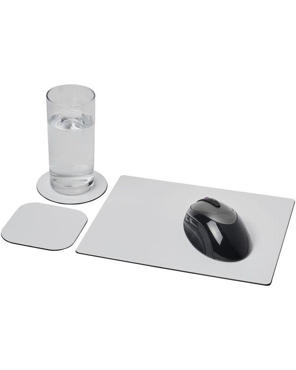 Brite-Mat Mouse Mat And Coaster Set Combo 1