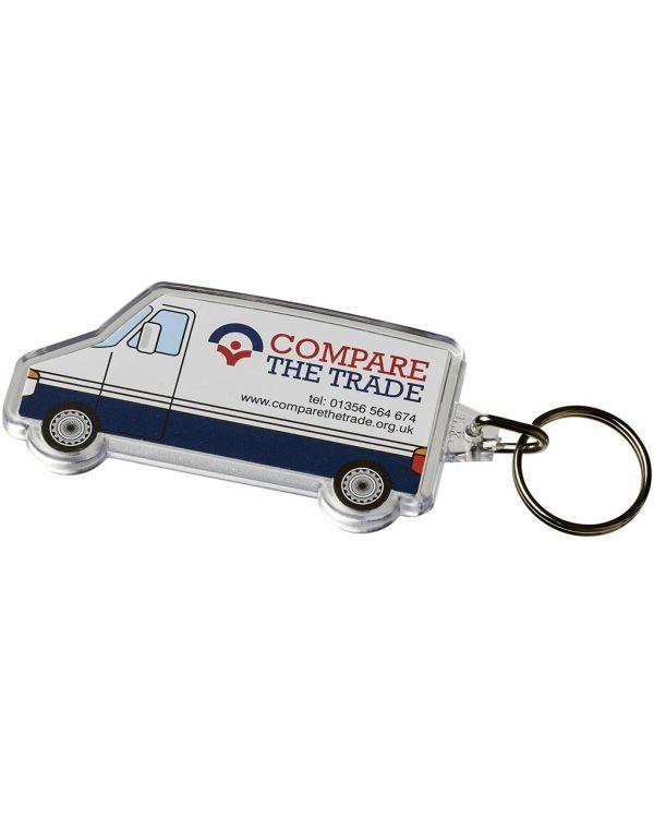 Combo Van-Shaped Keychain