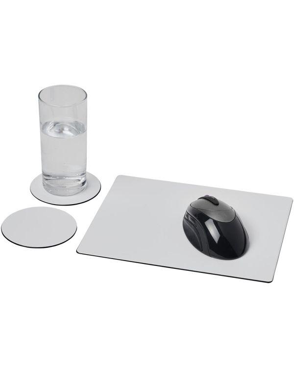 Brite-Mat Mouse Mat And Coaster Set Combo 2