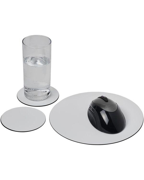 Brite-Mat Mouse Mat And Coaster Set Combo 5