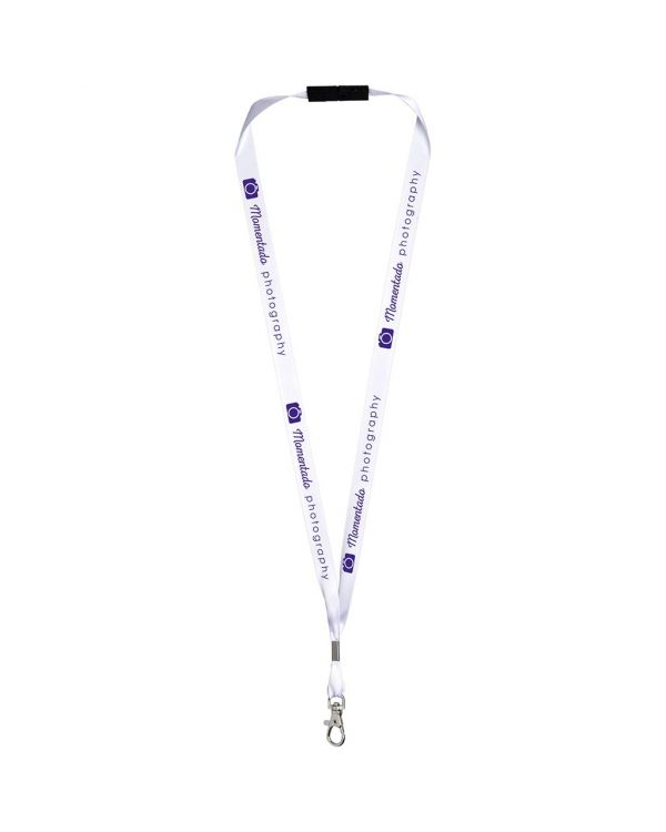 Oro Ribbon Lanyard With Break-Away Closure