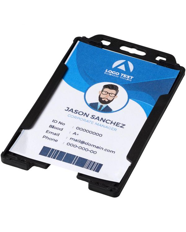 Pierre Transparent Badge Holder