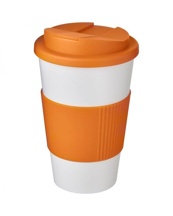 Americano 350 ml Tumbler With Grip & Spill-Proof Lid