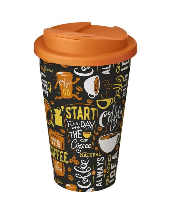 Brite-Americano 350 ml Tumbler With Spill-Proof Lid