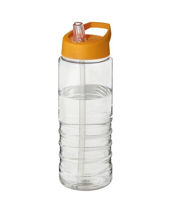 H2O Treble 750 ml Spout Lid Sport Bottle