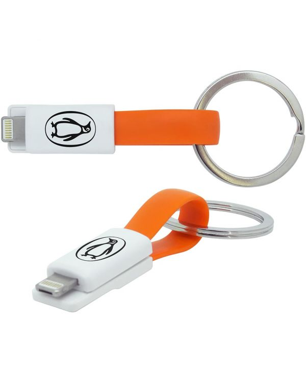 2-in-1 Keyring Charging Cable