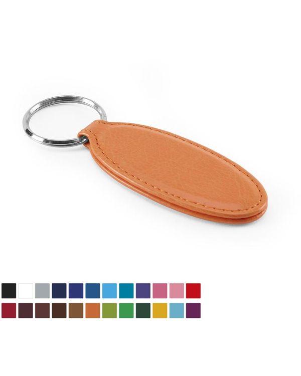 Vibrance Oval Key Fob