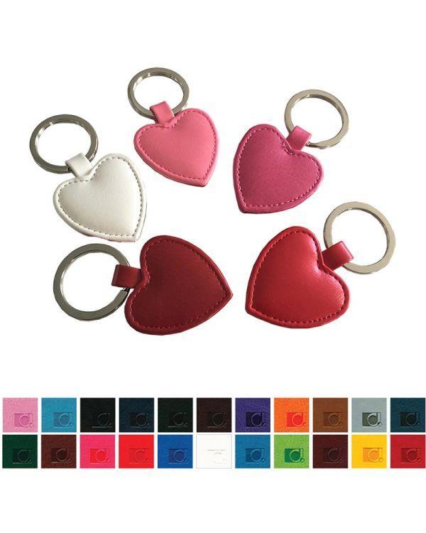 Heart Shaped Key Fob In Belluno