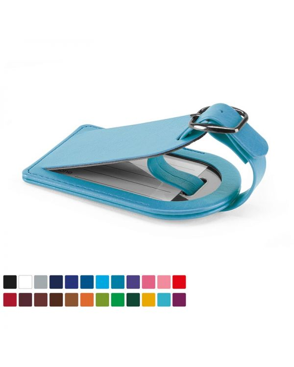 Vibrance Small Luggage Tag with Security Flap