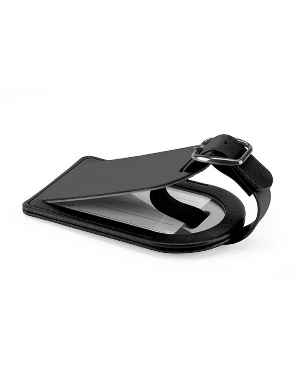 Optimum Small Luggage Tag with Security Flap