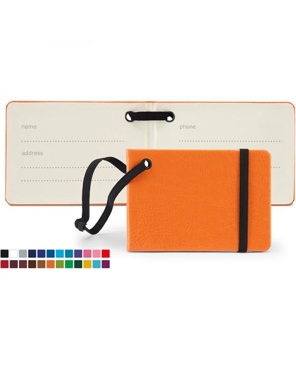 Notebook Style Luggage Tag In Belluno