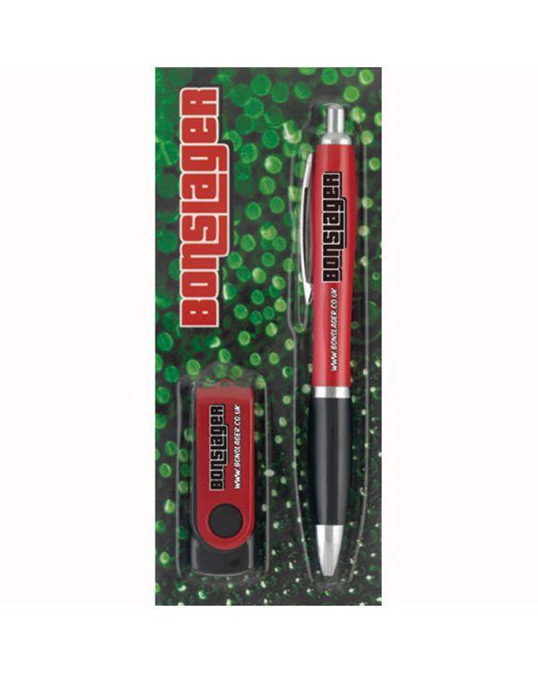 PS06 Pen+ Promo Pack Contour Mix & Match Ballpen and Twister USB