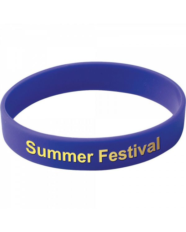 Silicone Wristband (Adult: Printed Design)