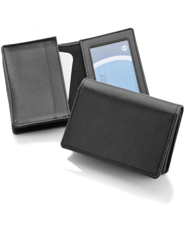 Woburn Leather Deluxe Business Card Holder