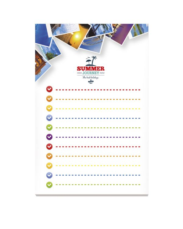 BIC 101 mm x 152 mm 100 Sheet Adhesive Notepads Ecolutions