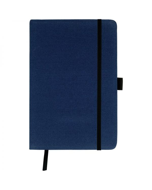 Downswood A5 Cotton Notebook Black