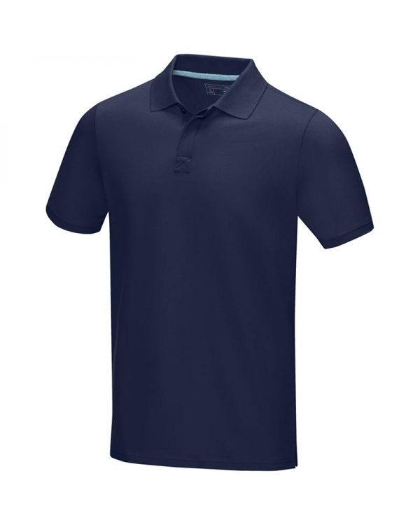 Graphite Short Sleeve Men's GOTS Organic Polo
