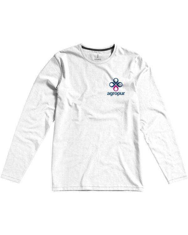 Ponoka Long Sleeve Men'S Organic T-Shirt