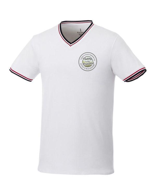 Elbert Short Sleeve Men's Pique T-Shirt