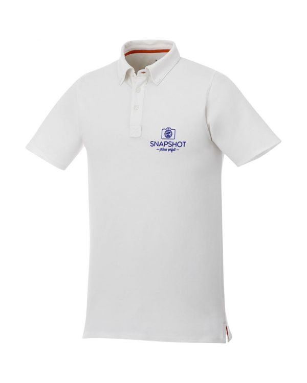 Atkinson Short Sleeve Button-Down Men'S Polo