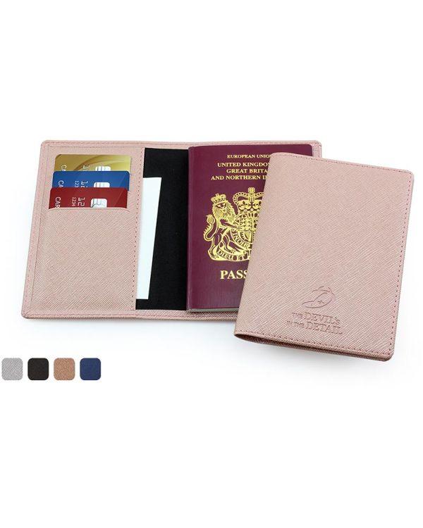 Saffiano Passport Wallet