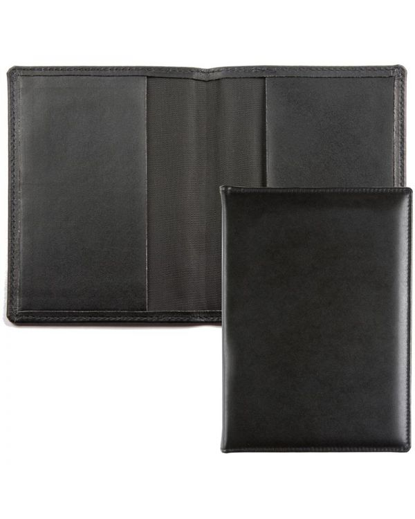 Recycled Leather Passport Wallet - leather pockets